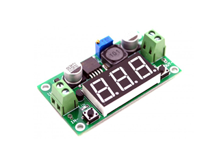 LM2596 Step-Down Module With Voltage Display