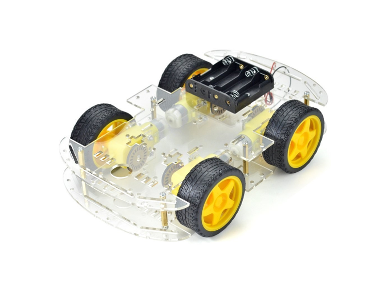 4WD Smart Robot Car Chassis - Image 1