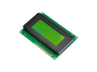 16x4 LCD Light Green