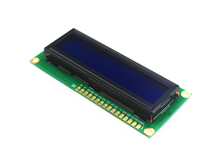 16x2 LCD Light Blue