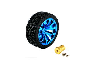 Robot Plastic Tire Wheel