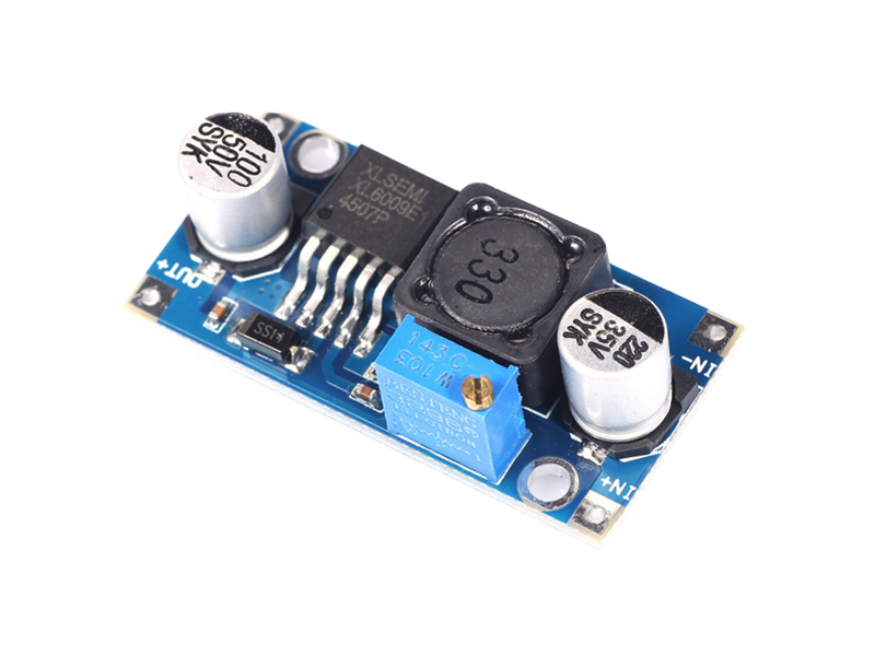XL6009 Adjustable Step-Up Converter Module - Image 1