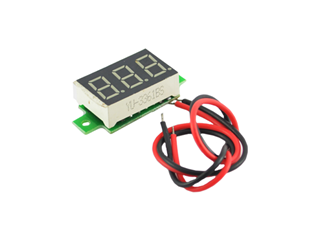 Mini 3-digit Voltmeter Module