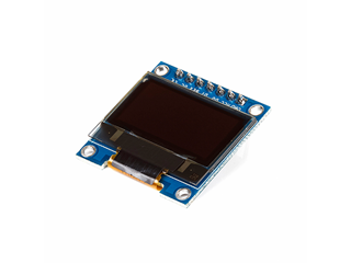 OLED White/Blue Screen Display Module