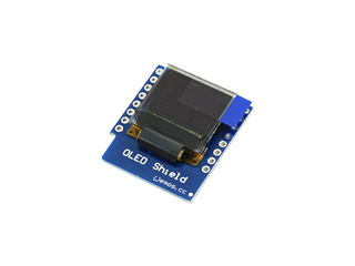 "WEMOS D1 Mini OLED 0.66"" I2C Shield"