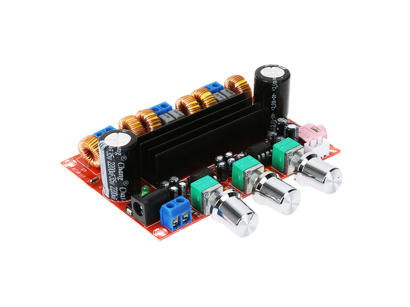 TPA3116 2.1 Digital Subwoofer Audio Amplifier Board - Image 1