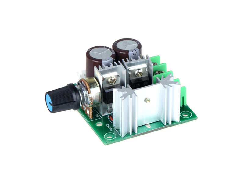 PWM DC Motor Adjustable 10A Speed Controller - Image 2