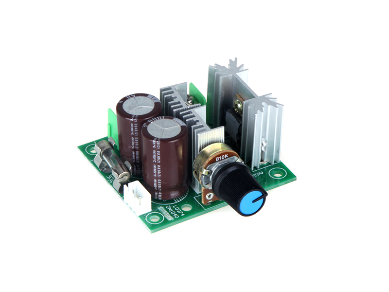 PWM DC Motor Adjustable 10A Speed Controller - Image 3