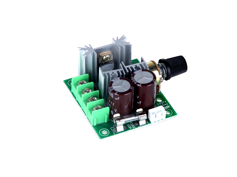 PWM DC Motor Adjustable 10A Speed Controller - Image 4