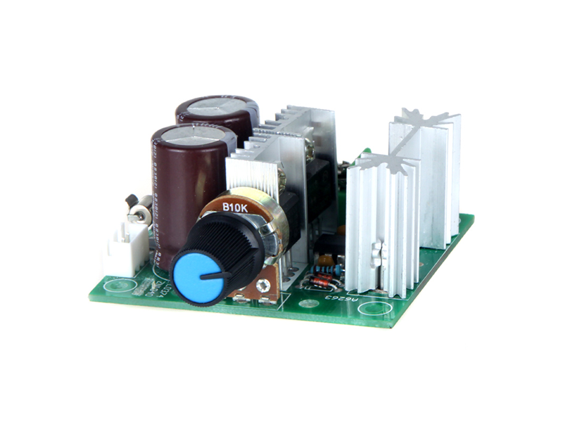 PWM DC Motor Adjustable 10A Speed Controller - Image 1