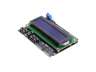 16x2 Blue LCD Shield