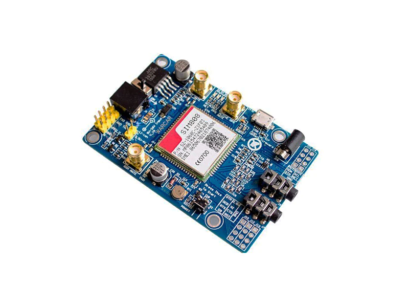 SIM808 GSM/GPRS/GPS Module With Antennas - Thumb 3