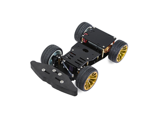4WD Metal Car Chassis with Steering Servo